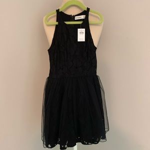 Abercrombie kids, Lace/tulle dress. New, XS 8